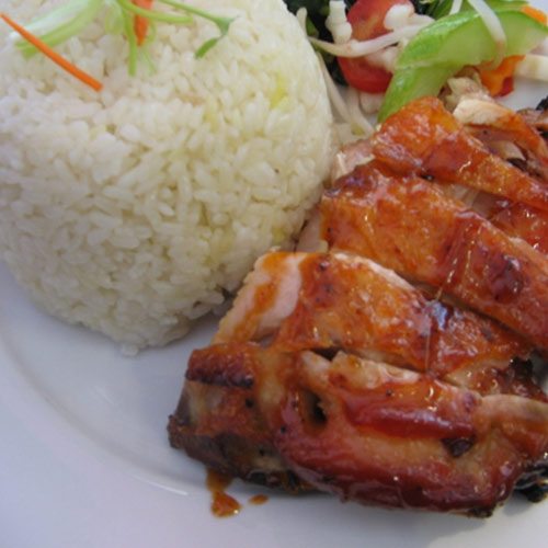 Grilled-chicken-with-Steam-rice-&-Boiled-vegetables