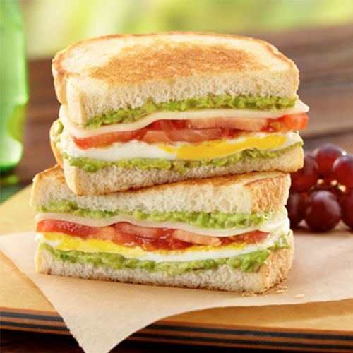 image of cheese & tomato sandwich tropical fresh