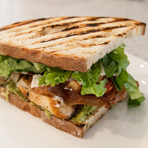 image of chicken sandwich tropical fresh