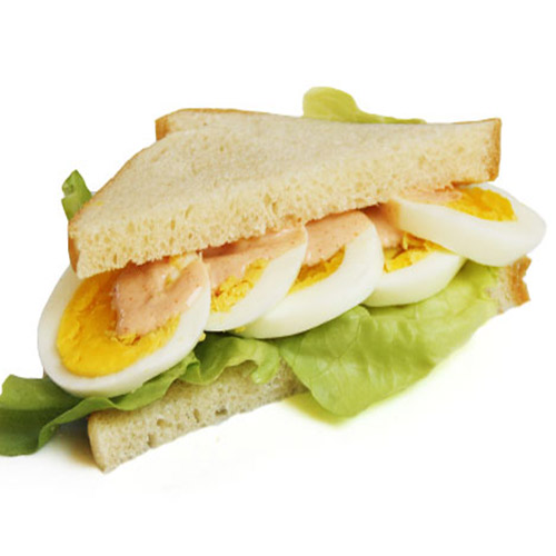 image of egg sandwich tropical fresh