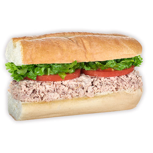 image of tuna submarine tropical fresh