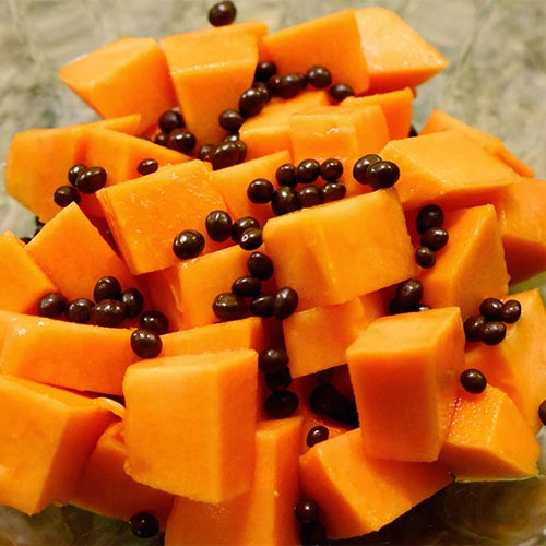 Papaya Snack